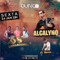 panfleto Os Cangaceiros + Alcalyno