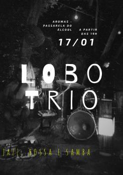 panfleto Lobo Trio