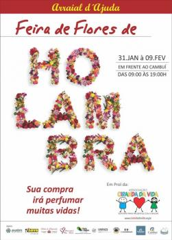 panfleto Feira de Flores de Holambra