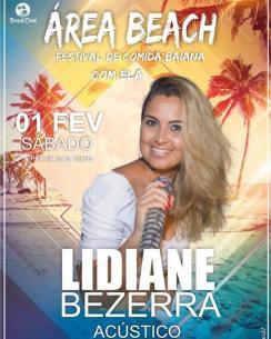 panfleto Festival de comida baiana - Lidiane Bezerra