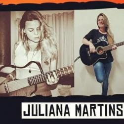 panfleto Juliana Martins e banda Bossanroll
