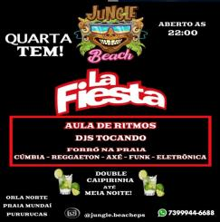 panfleto La Fiesta