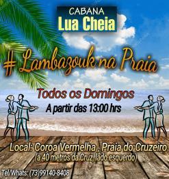 panfleto Lambazouk na Praia