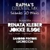 panfleto DJ Renata Kleber & Jokke Ilsøe - ADIADO