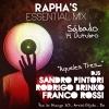 panfleto DJs Sandro Pintori, Rodrigo Brinko e Franco Rossi