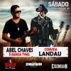 panfleto Abel Chaves e Banda Tymg convida Landau