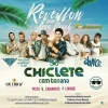 panfleto Reveillon 2018 - CHICLETE COM BANANA + Virou Bahia + Walber Luiz