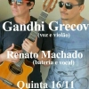 panfleto Gandhi Grecov + Renato Machado
