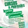 panfleto 1ª Feira de Cursos & Profissões de Porto Seguro