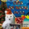 panfleto Ceia de Natal - Banda da Praia
