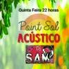 panfleto Dj Sam Acústico