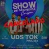 panfleto Udstok Project - despedida da banda CANCELADA