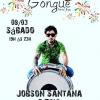 panfleto Forró ao vivo - Jobson Santana e Trio