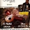 panfleto Forró ao vivo - Trio Caipim Guiné