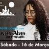 panfleto Noite gospel com Vivian Alves