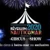 panfleto Réveillon 2020 Nauticomar Circus Show!