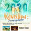 panfleto Réveillon Dourado 2020