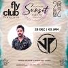 panfleto FlyClub Sunset Parties: JP