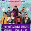 panfleto Uíki Sessions - 3030, Groove Delight, Holiver, Koalla, JP