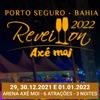 panfleto Réveillon Axé Moi 2021 - Zé Neto & Cristiano + 1 Atração