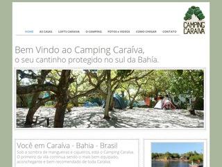 panfleto Campingcaraiva.com.br