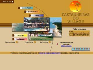 panfleto Hotel Pousada Castanheiras do Village