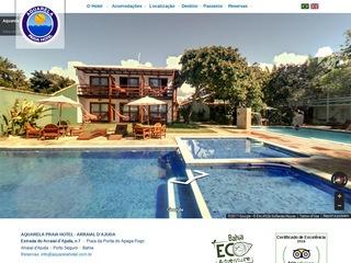 panfleto Aquarela Praia Hotel