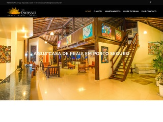 panfleto Hotel Girassol