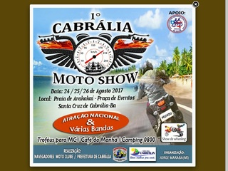panfleto Navegadores Moto Clube