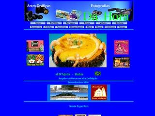 panfleto Da Hora Fotografias & Artes graficas