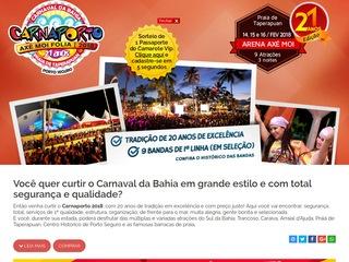 panfleto Carnaval Axé Moi 2020 - Axé Moi Folia