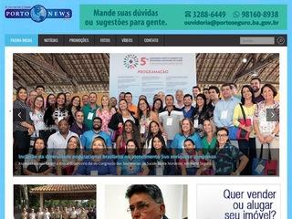 panfleto Porto News - O Jornal da Cidade