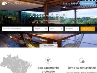 panfleto CasaFérias - Aluguel Temporada em Arraial d Ajuda