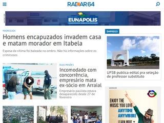 panfleto Radar 64 - Notícias