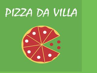 panfleto Pizza da Villa