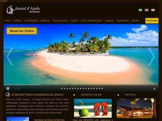 panfleto Arraial d'Ajuda Eco Resort