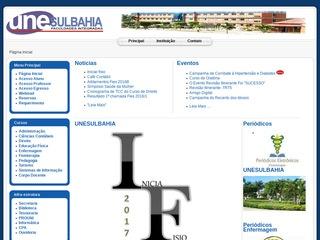 panfleto Unesulbahia - Faculdades Integradas